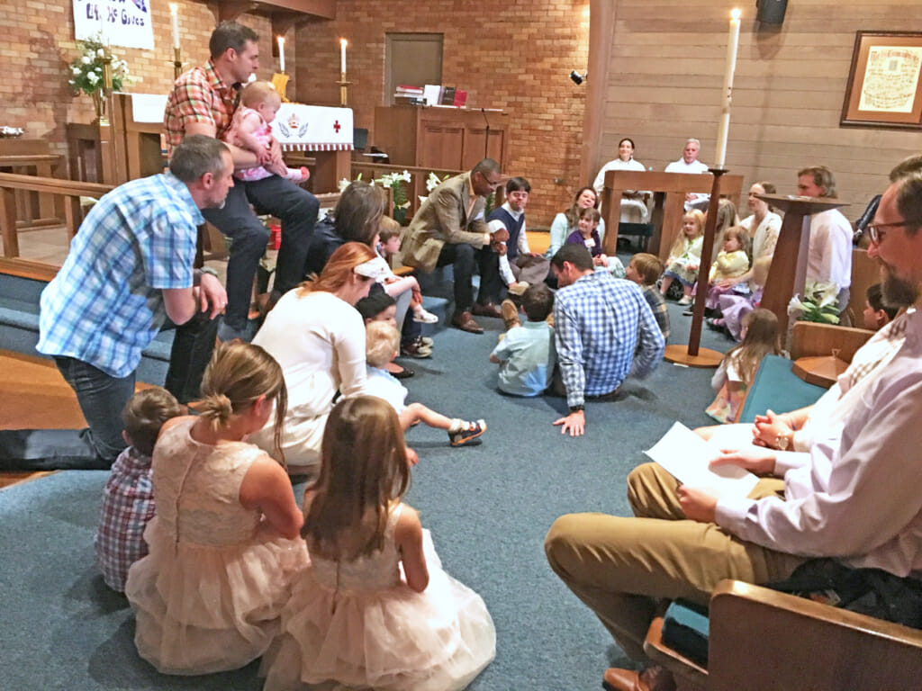 Children's Moment in Worship Service